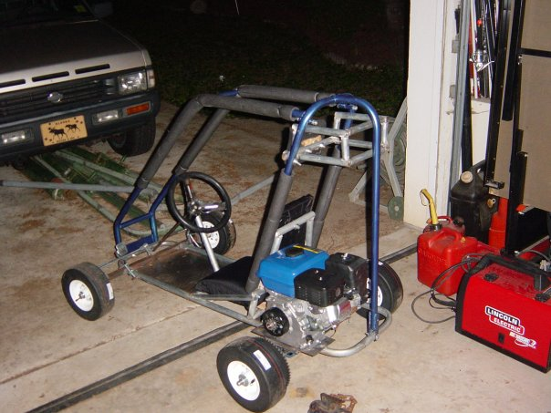 how to build a go kart engine from scratch